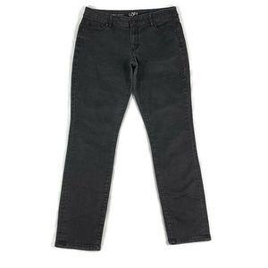 LOFT Jeans Curvy Skinny Black Wash Size 30/10